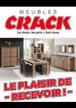 Prospectus Meubles Crack : Le plaisir de recevoir !