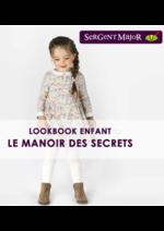 Promos et remises  : Lookbook enfant Le manoir des secrets