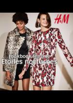 Catalogues et collections H&M : Lookbook femme Étoiles nocturnes