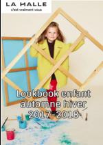 Catalogues et collections La Halle : Lookbook enfant automne hiver 2017-2018