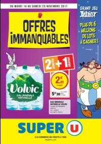 Prospectus Super U FONTENAY LE FLEURY : Offres immanquables