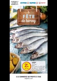 Prospectus Super U NOISY LE ROI : Fête du hareng