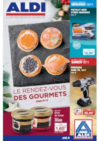 Prospectus Aldi Asnières-sur-Seine : Le rendez-vous des gourmets