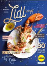 Journaux et magazines Lidl : Lidl Le Mag