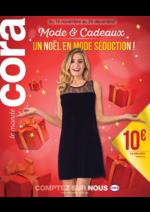 Prospectus Cora : Mode & cadeaux Un noël en mode séduction !