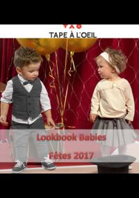 Catalogues et collections Tape à l'oeil LES LILAS : Lookbook Babies : Fêtes 2017