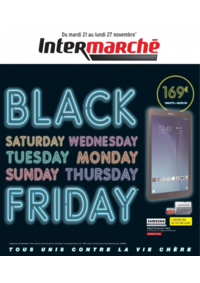 Prospectus Intermarché Super Champigny-sur-Marne 40 rue de Verdun : Black Friday