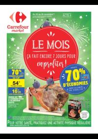 Prospectus Carrefour Market Paris Saint Ouen : Le mois acte 4