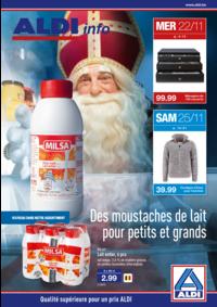 Prospectus Aldi ELSENE/IXELLES : Des moustaches de lait pour petits et grands