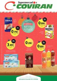 Folhetos Covirán Caneças : Natal é partilhar momentos