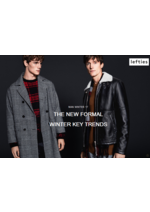 Catálogos e Coleções Lefties : Lookbook Man - The New Formal Winter Key Trends