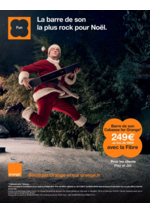 Prospectus Orange : La barre de son la plus rock pour Noël