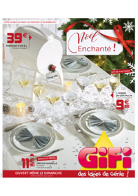 Prospectus Gifi : Noël enchanté !