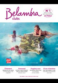 Catalogues et collections Belambra Clubs Gourette : Brochure printemps-été-automne 2018