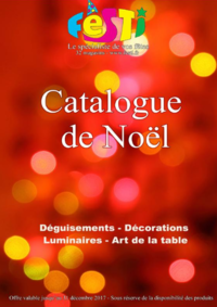 Catalogues et collections Festi : Feuilletez le catalogue de Noël