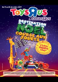 Catalogues et collections Toys R Us TOURVILLE LA RIVIERE : Destination Noël course aux jouets