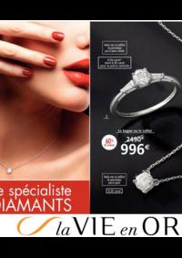 Catalogues et collections Auchan Vélizy : La vie en Or spécial diamants