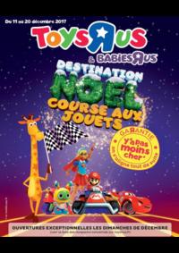 Catalogues et collections Babies R Us THIAIS 10 rue des Alouettes : Destination Noël course aux jouets
