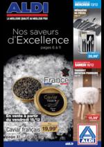 Prospectus Aldi : Nos saveurs d'excellence