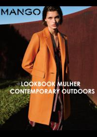 Catálogos e Coleções MANGO Lisboa Colombo : Lookbook mulher Contemporary outdoors