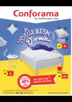 Prospectus Conforama : Je veux bien dormir