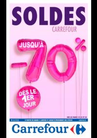 Prospectus Carrefour BESANCON Zone Commerciale Est : Soldes Carrefour