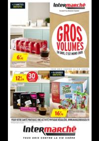 Prospectus Intermarché Super : Gros volumes en gros c'est moins cher