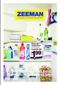 Prospectus Zeeman Champigny sur Marne : Cette semaine: tout pour une maison propre et bien rangée