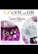 Prospectus  : La vie en Or Saint Valentin