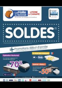 Prospectus La Halle au Canapé BONNEUIL SUR MARNE : Soldes !