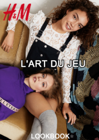 Catalogues et collections H&M Anderlecht : Lookbook femme L'art du jeu