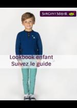Catalogues et collections Sergent Major : Lookbook enfant Suivez le guide