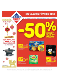 Prospectus Leader Price Le Plessis-Robinson : Nouvel an chinois