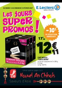Prospectus E.Leclerc CONFLANS SAINTE HONORINE : Les jours super promos !