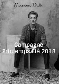 Catalogues et collections Massimo Dutti Women Men Bruxelles - Rue neuve  : Campagne homme printemps été 2018