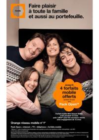 Prospectus Boutique Orange AULNAY SOUS BOIS : Faire plaisir à toute la famille et aussi au portefeuille