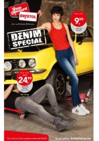 Prospectus Shoe Discount BRUSSEL Rue Neuve : Denim special