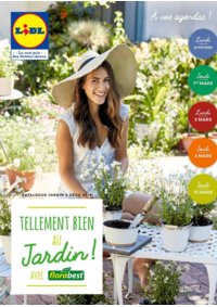 Prospectus Lidl MONTAUBAN : Tellement bien au jardin avec Florabest
