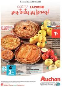 Prospectus Auchan Val d'Europe Marne-la-Vallée : Goûtez la pomme sous toutes ses formes !