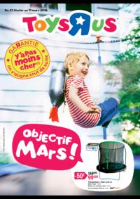 Prospectus Toys R Us TOULOUSE : Objectif mars !