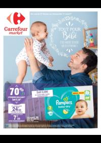 Prospectus Carrefour Market PARIS 102-104 AVENUE GENERAL LECLERC : Tout pour bébé