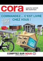 Prospectus Cora : Commandez c'est livré chez vous