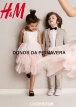 Catálogos e Coleções H&M : Lookbook criança Donos da primavera
