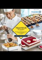 Menus E.Leclerc : Traiteur E.Leclerc