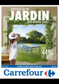Prospectus Carrefour CHARLEVILLE MEZIERES : Bien plus qu'un jardin votre nouveau salon !