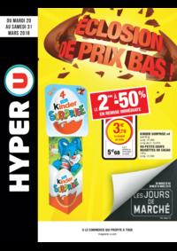 Prospectus Hyper U : Éclosion de prix bas !