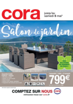 Prospectus Cora : Salon de jardin