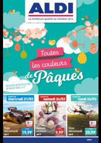 Prospectus Aldi Draveil : Toutes les couleurs de Pâques