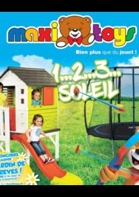 Catalogues et collections Maxi Toys Paris 19 : 1...2...3... soleil
