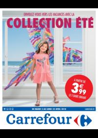 Prospectus Carrefour CHARENTON LE PONT : Envolez-vous vers les vacances avec la collection été